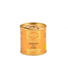 Bloc de Foie Gras de pato (98%). Lata de 95 g.