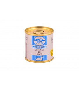 Dose 95 gr.Mousse de Foie (50% foie gras).