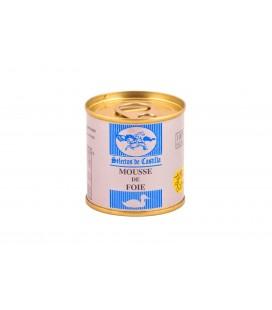 Lata 95 gr. Mousse de Foie (50% foie gras). .