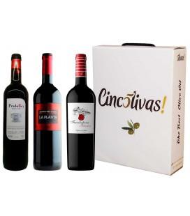 Vino Ribera Botellas. Lote REGALO RIBERAS