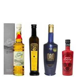 Olivenöl Futteral Flaschen 500 ml. Charge QUALITÄT