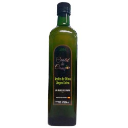 Olive Oil Glass Bottle  750 ml. Castil de Campos Coupage.