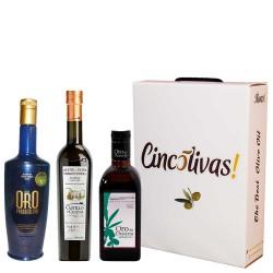 Olivenöl Futteral Flaschen 500 ml. Charge GESCHENK 2