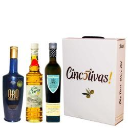 Aceite de Oliva Botellas 500 ml. Lote ESPECIAL