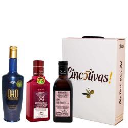 Aceite de Oliva Botellas 500 ml. Lote MÁS VENDIDOS