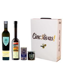Gourmet-Produkte. Geschenkbox Weihnatch 18