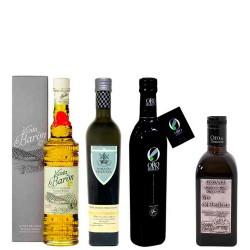 Olivenöl Futteral Flaschen 500 ml. Charge KÖSTLICHKEITEN