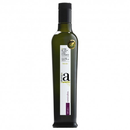 Olive Oil Glass Bottle 500 ml. Deortegas Ecologic Cornicabra.