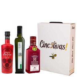 Aceite de Oliva Botellas 500 ml. Lote SABORES INTENSOS