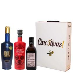 Olivenöl Futteral Flaschen 500 ml. Charge BESTEN