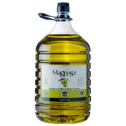 Olive Oil Big Bottle 5 L. Magnasur Picual.