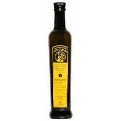 Aceite de Oliva Botella 500 ml. Pago Baldios San Carlos Arbequina.