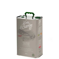 Olive Oil Can Bottle 2.5 L. Venta del Baron Coupage.