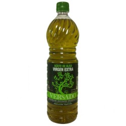 Pet Bottle Olive Oil 1 L. Versado Hojiblanca/Picudo.