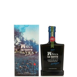 Aceite de Oliva Botella 500 ml. Finca la Torre Ecológico Coupage.
