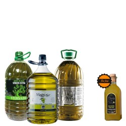 Olive Oil big bottles 5L. Super Offer Kitchen 3 BIG BOTTLES