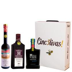 Batch d'huile d'olive Bouteilles 500ml. Le meilleur de l'Espagne