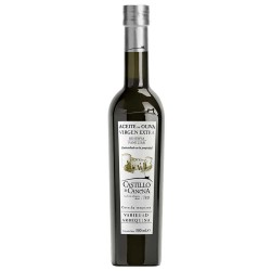 Olive Oil Glass Bottle  500 ml. Castillo de Canena Arbequina.