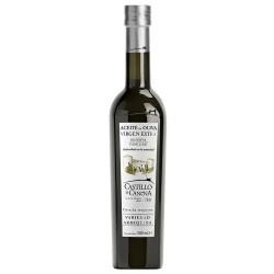 Olivenöl- Flasche 500 ml. Castillo de Canena Arbequina.