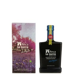 Olive Oil Glass Bottle 500 ml. Finca la Torre Ecologic Hojiblanca.