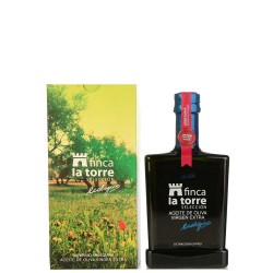 Olive Oil Glass Bottle 500 ml. Finca la Torre Ecologic Arbequina.