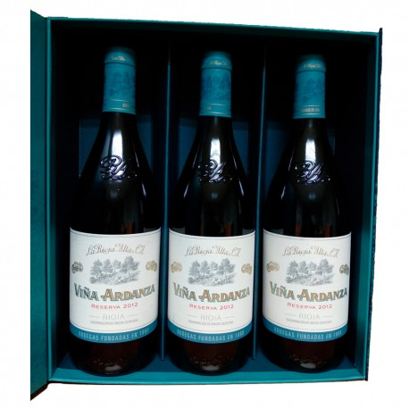 Futteral Flaschen Viña Ardanza Rioja Reserva 2012 75 cl