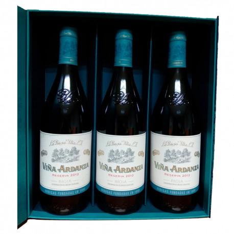Gift Case Viña Ardanza Rioja Reserva 2012 75 cl