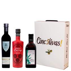 Batch d'huile d'olive Bouteilles 500ml. SPÉCIAL MÈRE