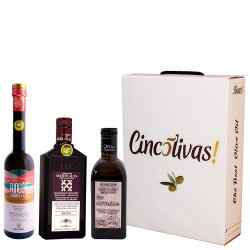 Olivenöl Futteral Flaschen 500 ml. Charge BESTEN 2020