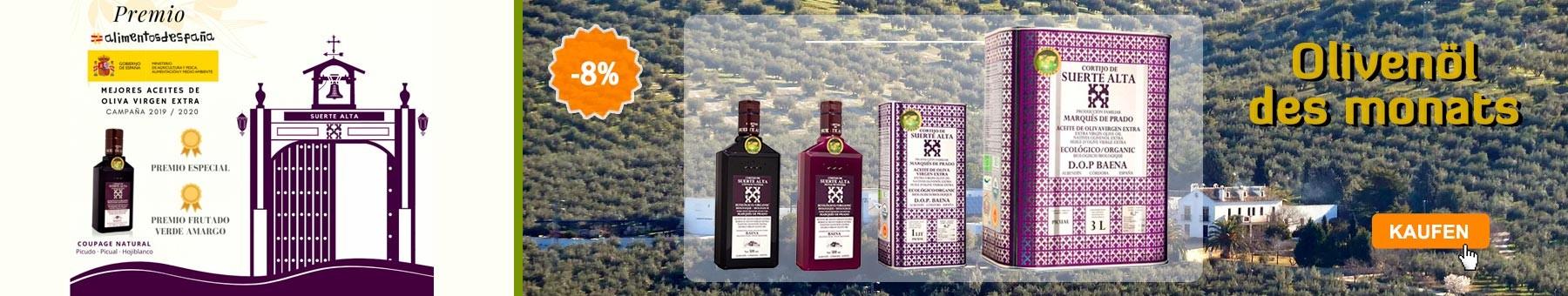 Olivenöl des monats