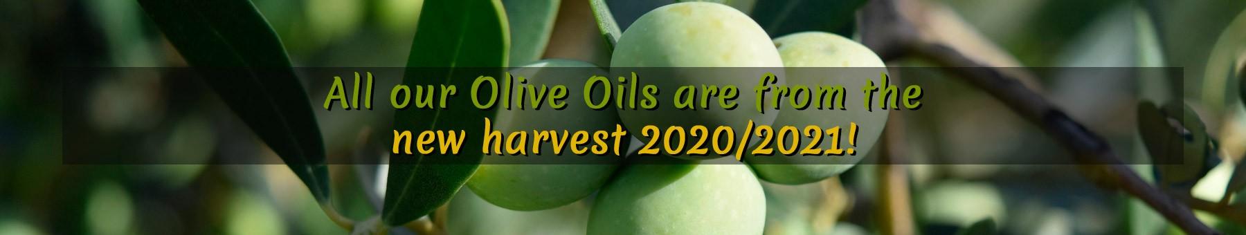 New harvest  2020/2021