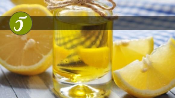 Aceite de Oliva y el limón